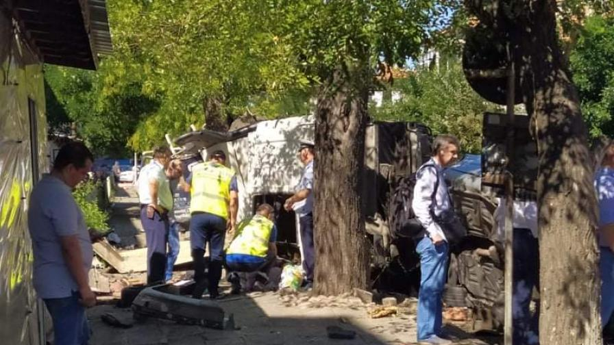 Постоянен арест за шофьора, причинил катастрофата в Айтос