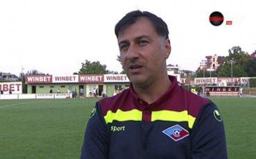 Христо Арангелов: Доминирахме през целия мач