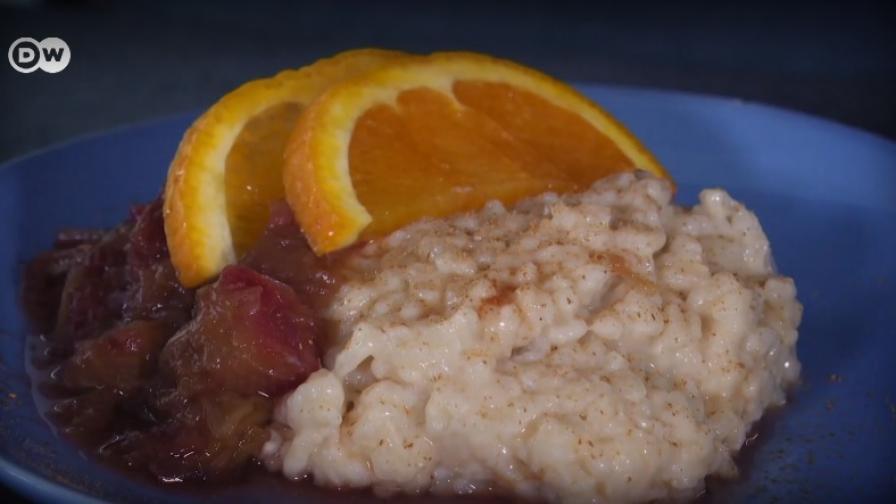 Рецепта от Германия: Как да приготвим оризов пудинг