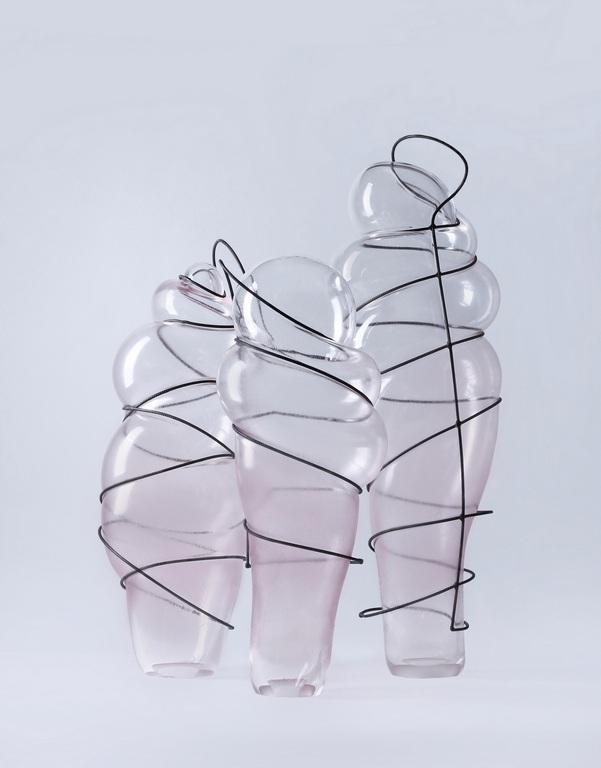 <p>Габриела Тончева &ldquo;Sermones intra thoracem&rdquo;</p>  <p>издухано стъкло и метал, blown glass into metal</p>