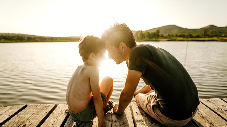 Как един баща си татуира родилен белег в знак на съпричастност към сина си
