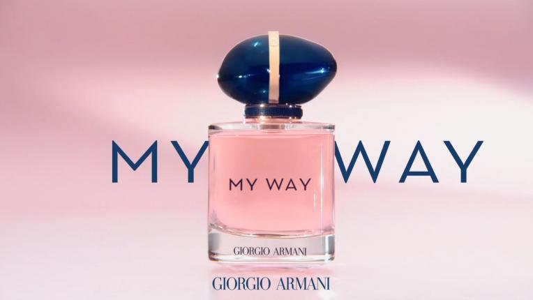 Полети върху крилете на своята женственост с новия аромат на Джорджо Армани MY WAY