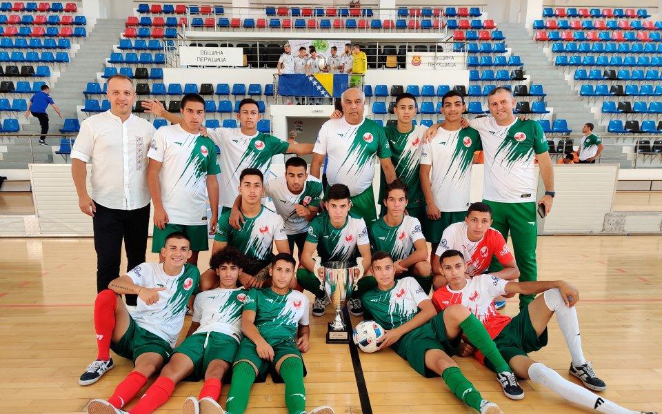 """""""Отбор на надеждата"""" завърши втори на международния турнир в Перущица"""