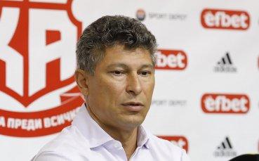 Балъков: Този мач винаги е по-различен, защото тук играе ЦСКА срещу Левски
