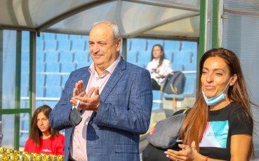 """Ивет Лалова и зам-министърът на спорта откриха турнира """"Открий шампиона в теб"""""""