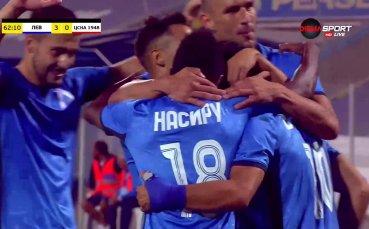 Нов гол на Цонев носи класиката на Герена