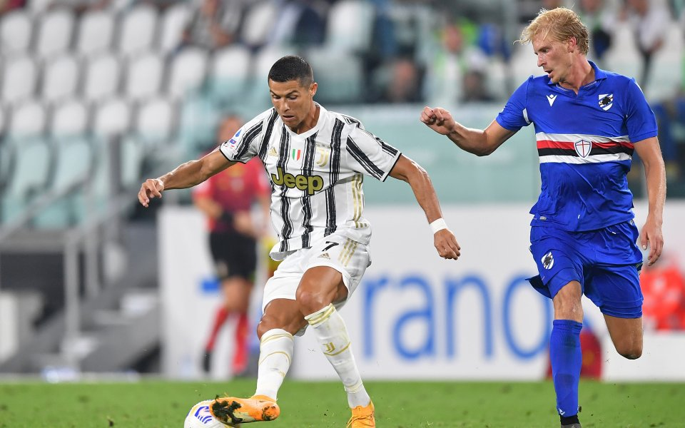 С попадението си при победата над Сампдория (3:0) Кристиано Роналдо