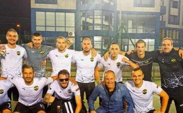 Радостин Кишишев връчи трофея от Шампионска лига