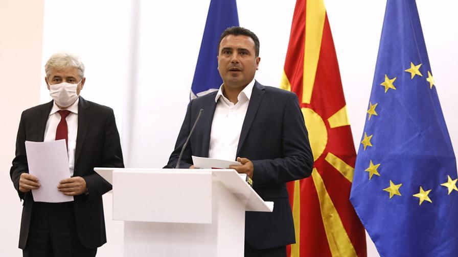 Заев иска среща с Борисов, Каракачанов предупреди Македония