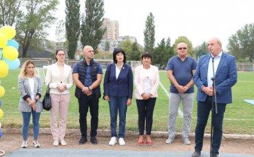 Зам.-министър Андонов откри спортен панаир във Видин
