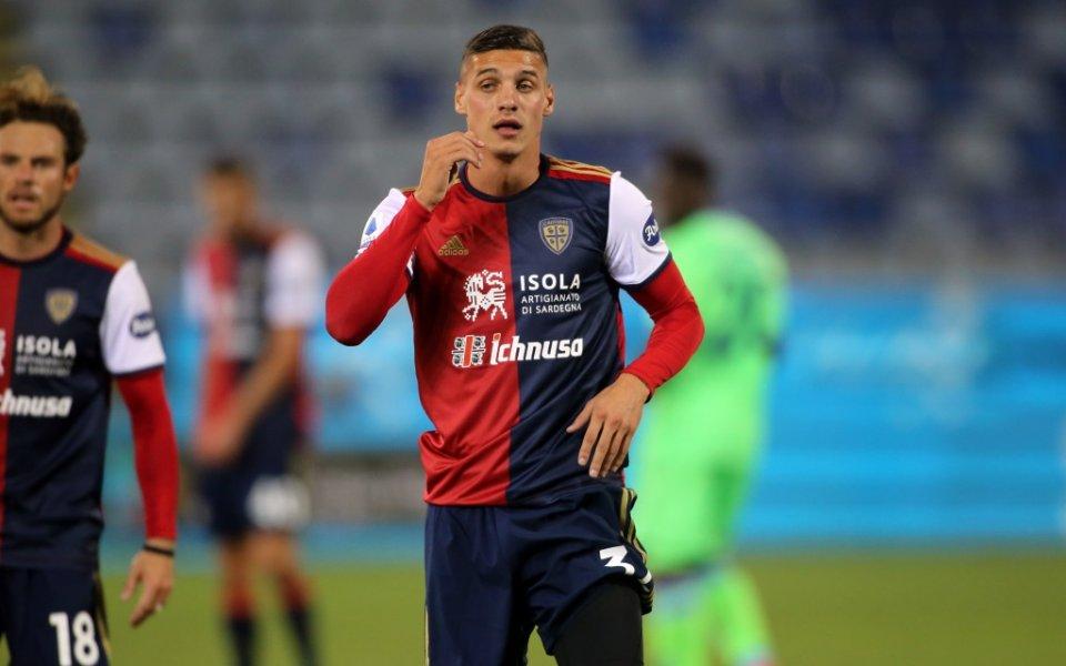 Българският национал Кирил Десподов се появи в игра като резерва