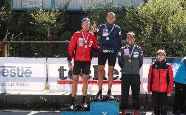 Владимир Илиев и Милена Тодорова със злато на държавното по летен биатлон в Банско