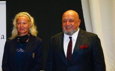 Министър Кралев уважи представянето на книгата