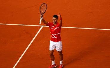 Джокович с експресна победа във втория кръг на Ролан Гарос