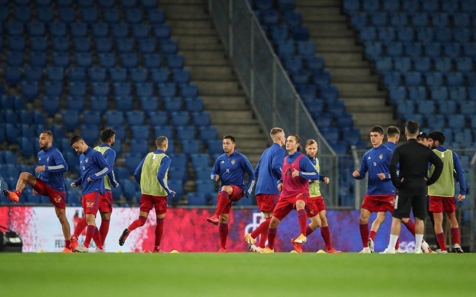 Мачът на Базел срещу ФК Цюрих в швейцарското първенство бе