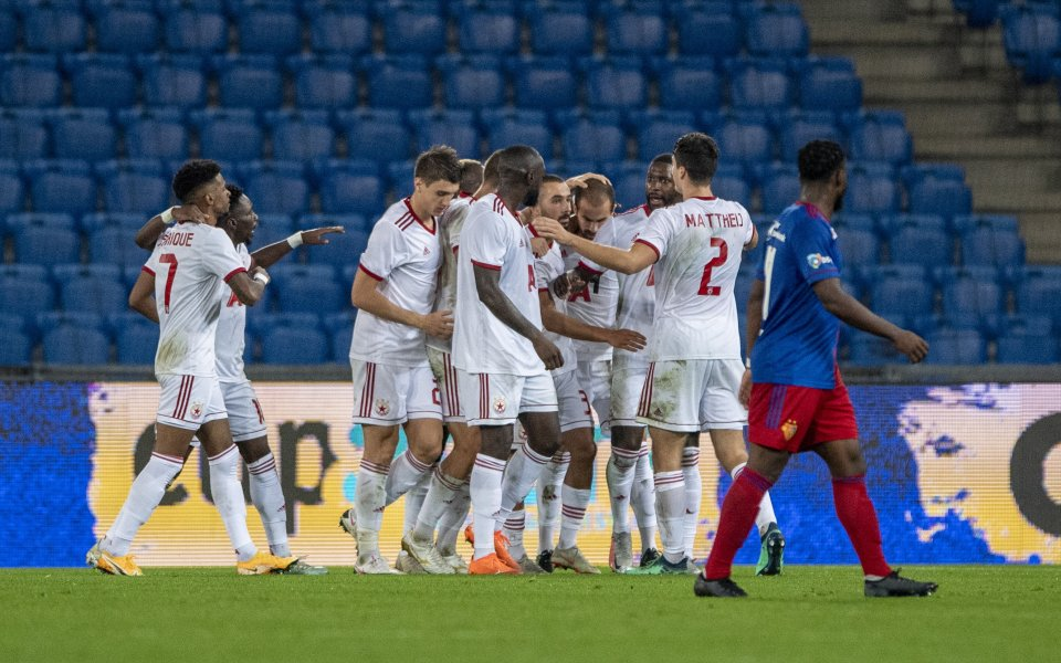 Отборът на ЦСКА изравни на Базел и двата отбора играят