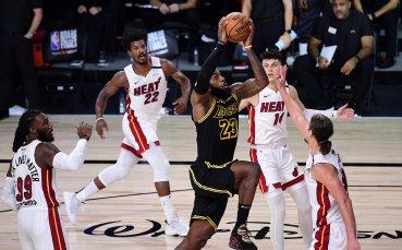ЛА Лейкърс на две победи от титлата в НБА