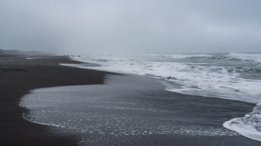 Халактирския плаж, Камчатка