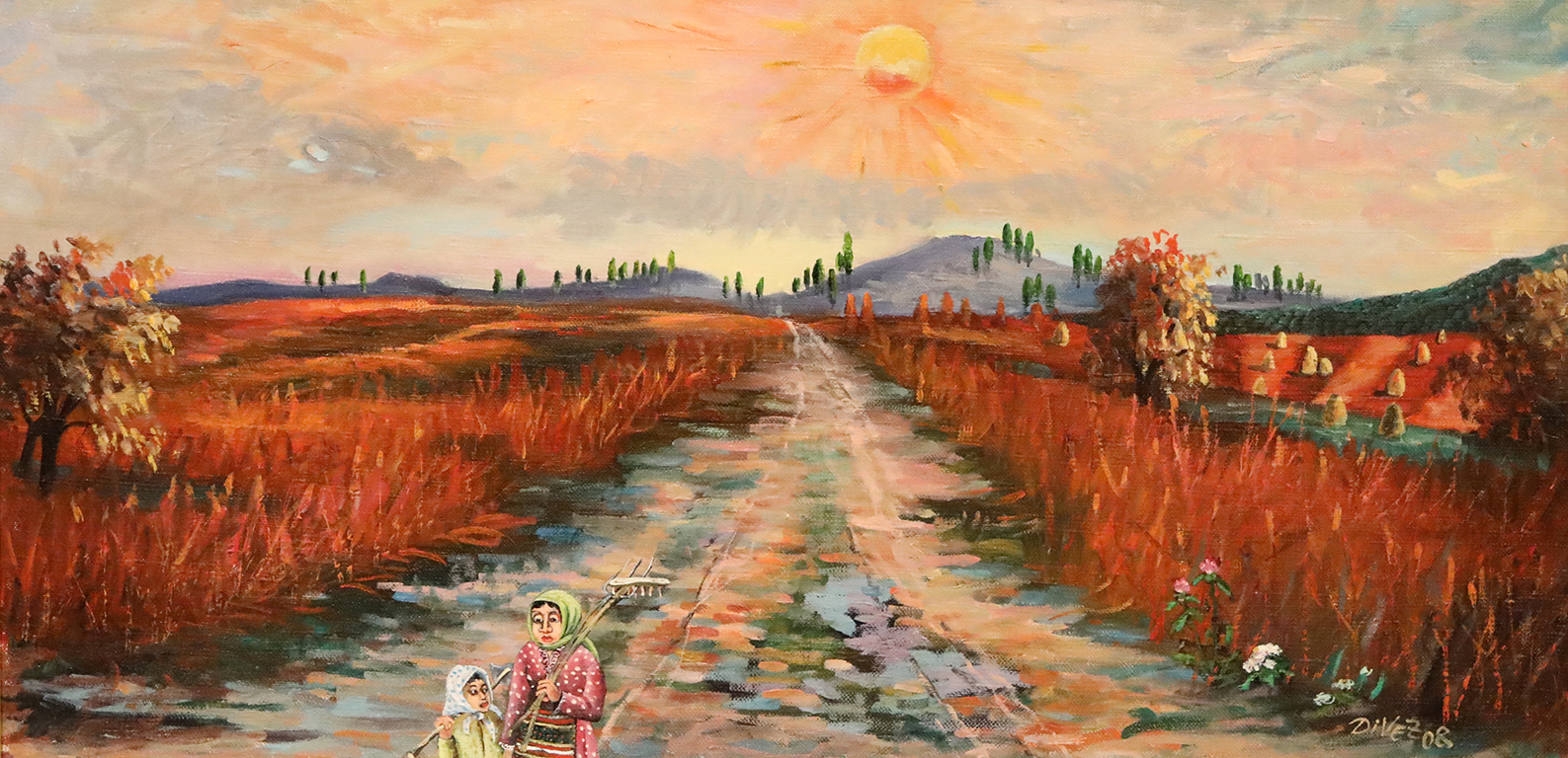 <p>Димитър Вецин - Слънце след буря</p>
