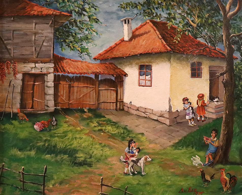<p>Димитър Вецин - Селски мотив</p>