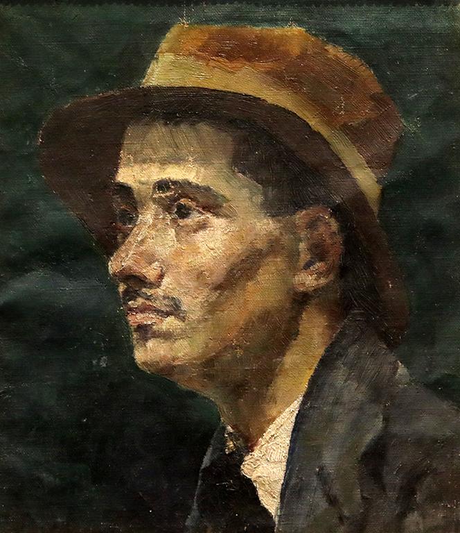<p>Григор Найденов, Портрет на художника Борис Иванов</p>