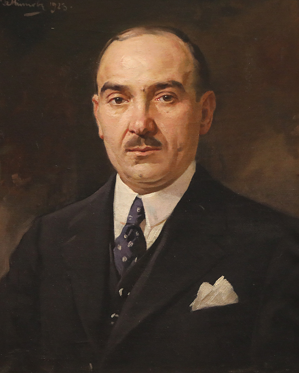 <p>Борис Митов, Илия Юргев - собственик на сладкарница &quot;Стара София&quot; 1923 г.</p>