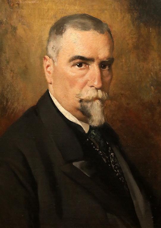 <p>Иван Мърквичка, Мъжки портрет</p>