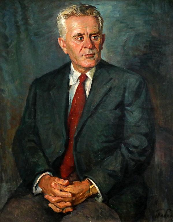 <p>Иван Табаков, Портерт на Александър Станишев - министър на вътрешните работи и народното здраве (юни-септември 1944 г.)</p>