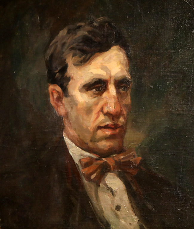 <p>Никола Кожухаров, Портрет на писателя Дамян Калфов</p>