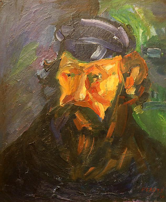 <p>Давид Перец, Мъжки портрет 1970 г.</p>