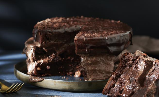 Сладко изкушение: Печена шоколадова мус торта