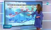 Прогноза за времето (08.10.2020 - централна емисия)