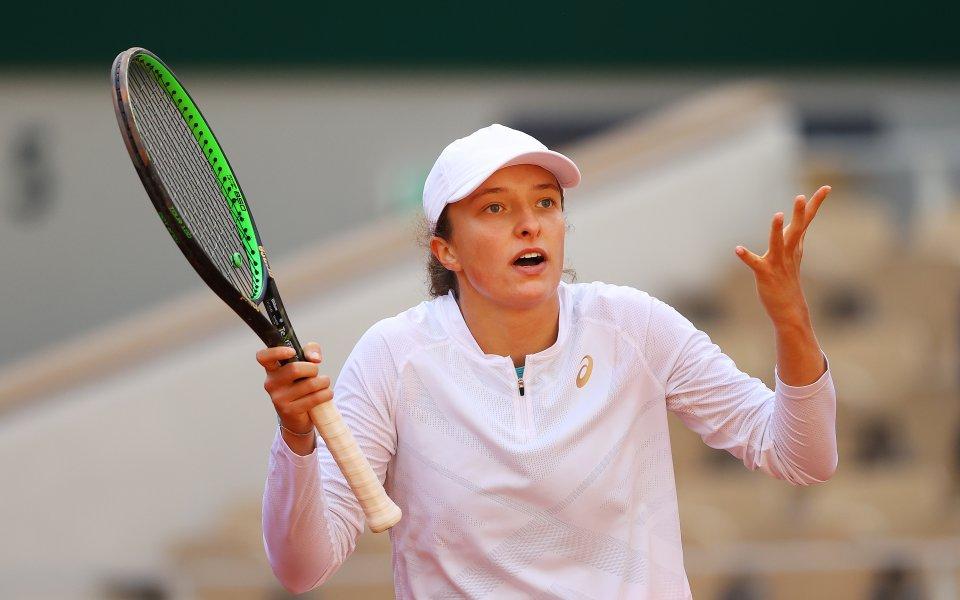 Световната №4 в тениса забърка сериозен гаф