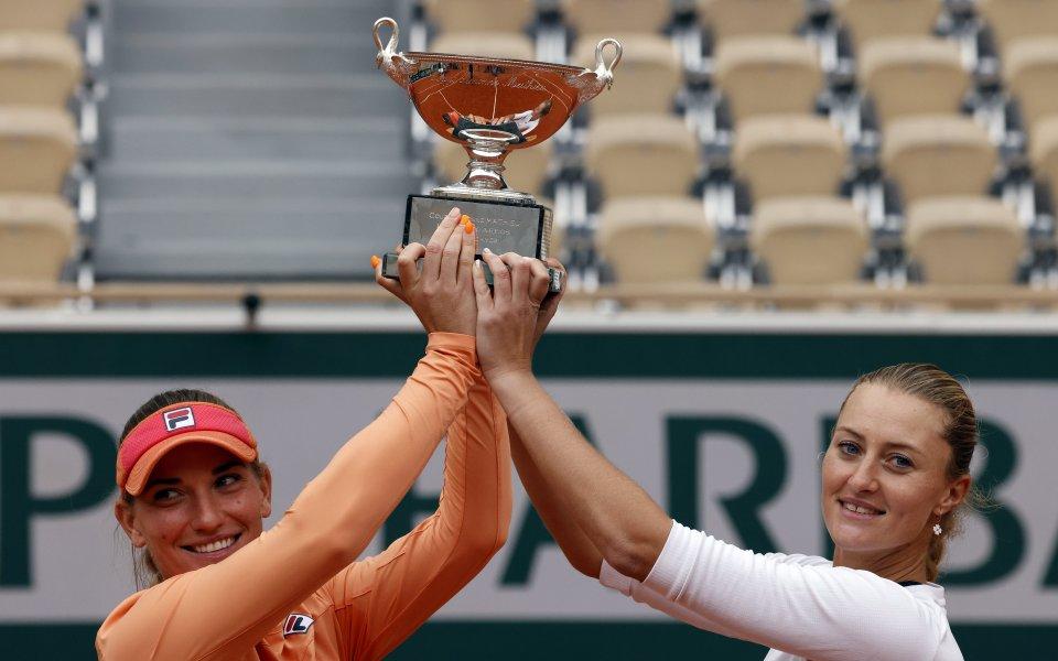 ТимеаБабош (Унгария) и Кристина Младенович (Франция) дублираха титлата си от