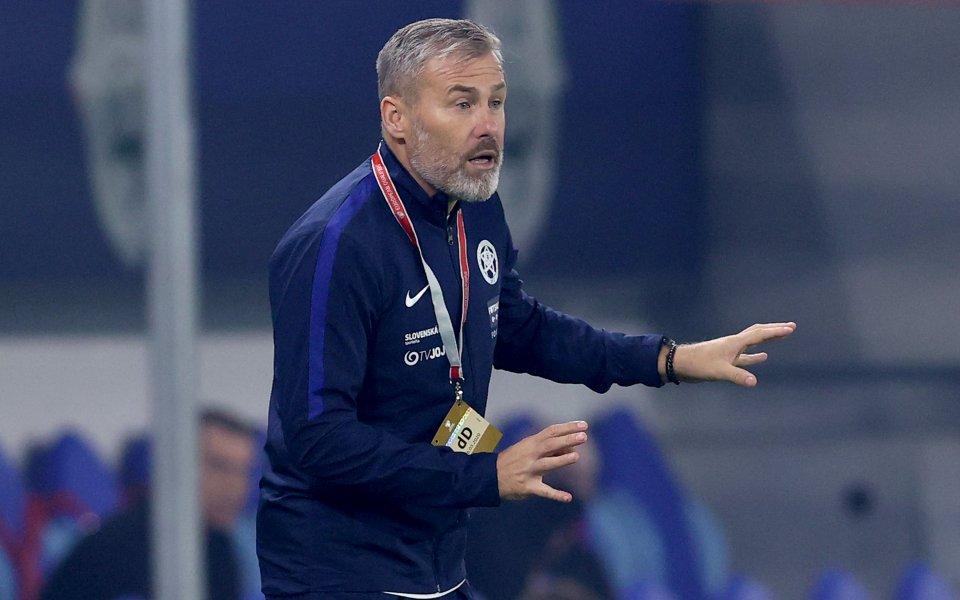 Националният отбор на Словакия по футбол ще бъде утре в