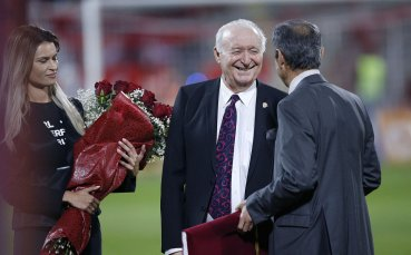 ЦСКА поздрави Петър Жеков по случай 76-ия му рожден ден