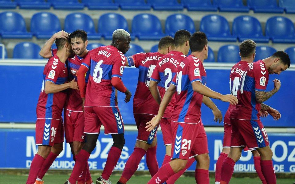 Отборът наЕлчеспечели с 2:0 при гостуването си наАлавесот шестия кръг