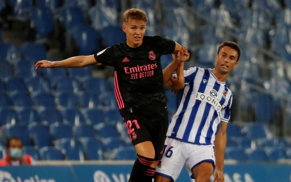 Полузащитникът на Реал МадридМартин Йодегаард ще пропусне следващия месец от