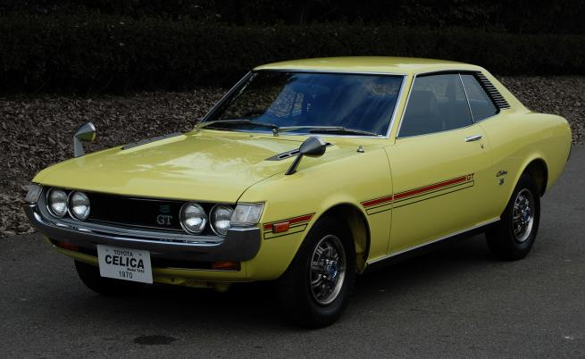 Легендарната Toyota Celica навърши 50