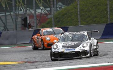 Рекордно класиране за Дончев в най-интензивния уикенд на Carrera Cup 2020