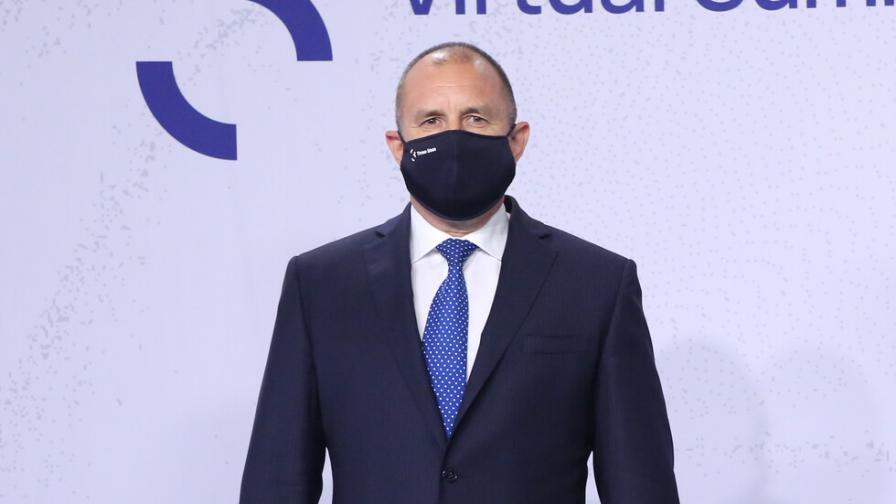 Румен Радев с коментар за COVID-скандала