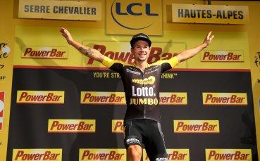 Примож Роглич над всички в първия етап от юбилейната Обиколка на Испания