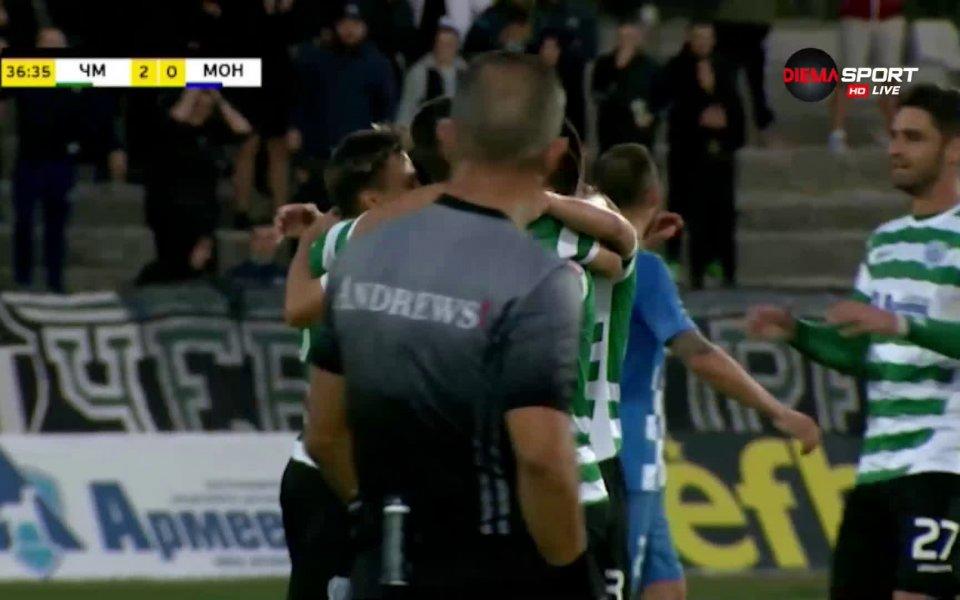 Черно море победи Монтана с 3:0 във втория неделен мач