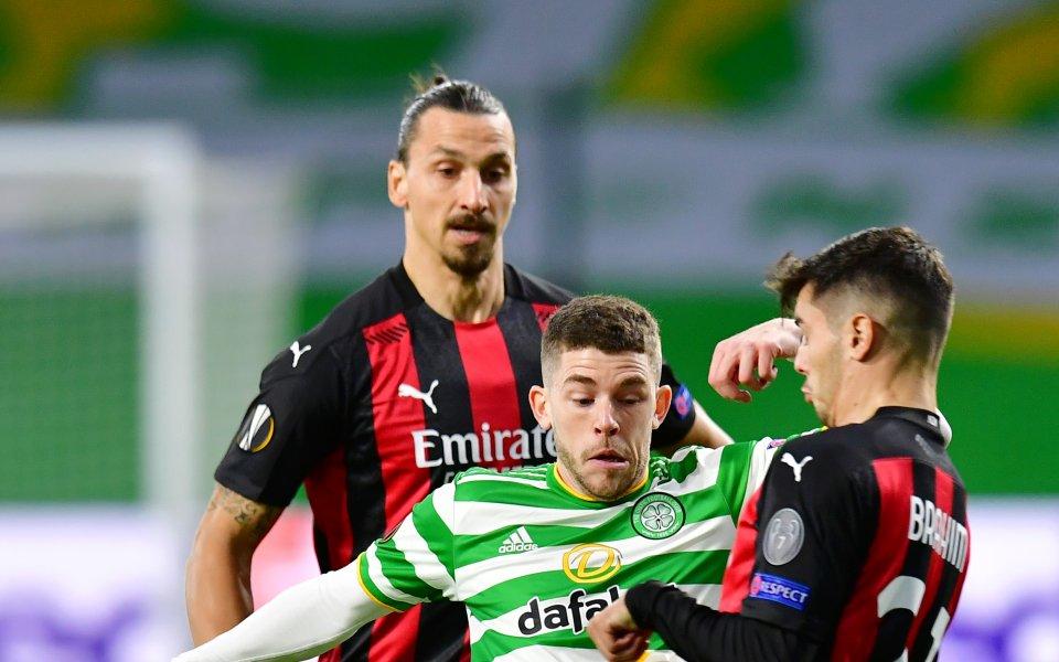 Милан спечели с 3:1 в гостуването си на Селтик от