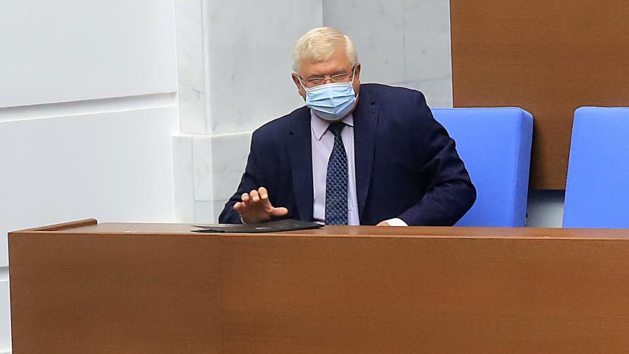 Кирил Ананиев в Народното събрание
