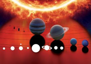 Астрономи наблюдаваха вулкани на Юпитеровата луна Йо