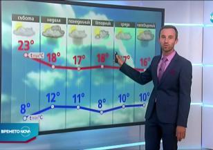 Прогноза за времето (24.10.2020 - обедна емисия)