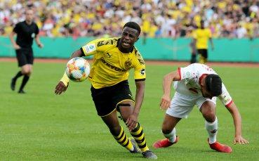 15-годишен талант на Борусия Д вкара 4 гола и изригна срещу расизма