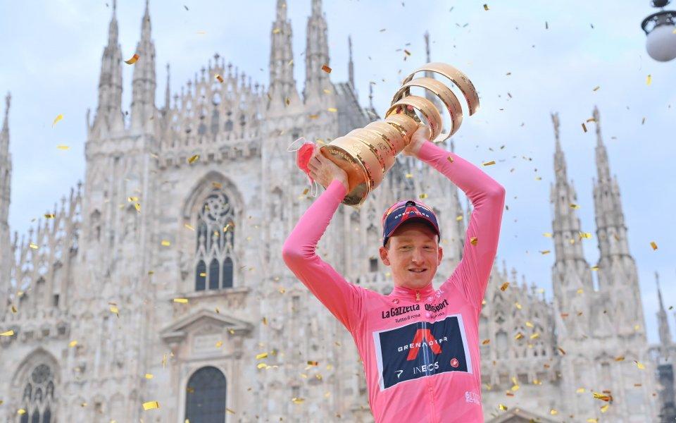 """Британецът Тею Гейгън Харт от отбора на """"Инеос"""" спечели колоездачната"""