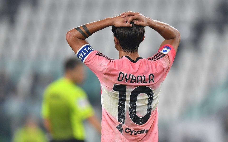 Шампионът Ювентус отново стъпи накриво в Серия А, стигайки само
